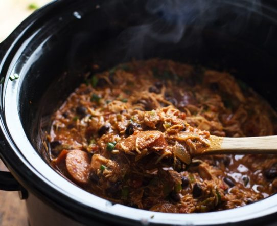 slow cooker creole chicken and sausage