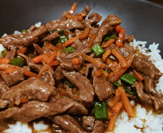 SECRET INGREDIENT MONGOLIAN BEEF